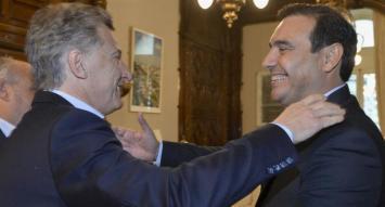 Tras su triunfo en Corrientes, Valdés fue recibido por Macri en Casa Rosada