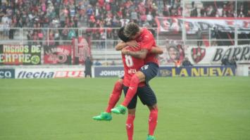 Independiente goleó 5-0 a Patronato en Paraná (Video).