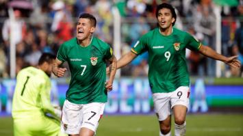 Argentina, sin Messi y cayó por 2 a 0 contra Bolivia en La Paz