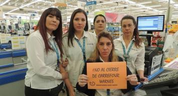 Carrefour: sindicalistas rechazan plan de ajuste y se avecina escalada en el conflicto