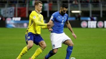 Italia empató 0 a 0 con Suecia y se queda sin Mundial