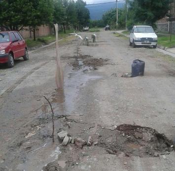 La Municipalidad le inició un juicio a la SAT por la destrucción de las calles