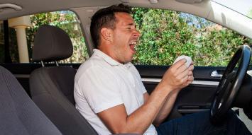 Personas con asma y rinitis sufren más accidentes de tránsito