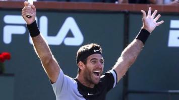 Del Potro venció a Federer y es campeón en Indian Wells
