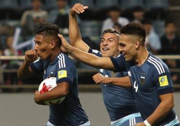 La Argentina goleó 5-0 a Guinea y mantiene la ilusión en el Mundial Sub-20 (VIDEO).