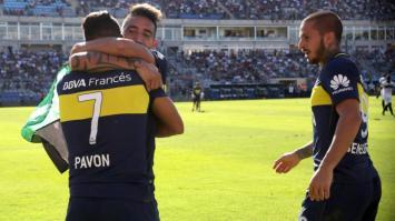 Boca ganó en San Juan y se afirma en la punta