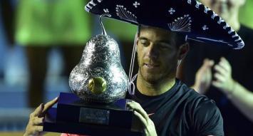 Del Potro cerró su fantástica semana con un nuevo título