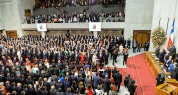 Con la promesa de acelerar la economía, Piñera asumió la presidencia de Chile