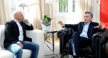 Macri recibió a Sampaoli, que le expresó su preocupación por el fútbol argentino