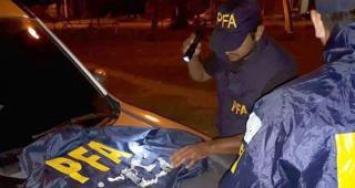 Simoca: la Policía Federal detuvo a una persona con 16 envoltorios de marihuana