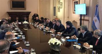 Bullrich, Martínez y Cano participan de su última reunión de Gabinete antes de dejar cargos