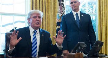 Fuerte derrota legislativa para Trump: retira su reforma de salud por falta de votos
