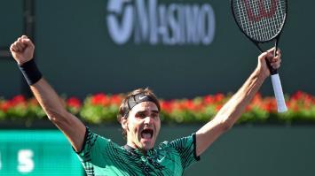 Roger Federer consiguió su 90° título y trepó al sexto escalón del ránking