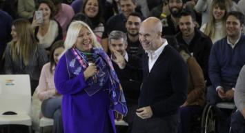Lilita cierra la campaña el Día de la Lealtad Peronista