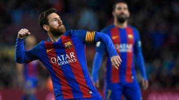 Barça vapuleó a Osasuna con un doblete de Messi y un gol de Masche. (VIDEO).