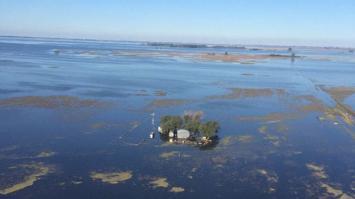 Las lluvias del fin de semana agravaron las inundaciones en Buenos Aires y La Pampa