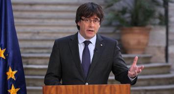 """Puigdemont descartó pedir asilo en Bélgica y denunció """"déficit democrático"""" en España"""