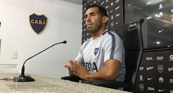 """Tevez dijo que no hay favoritos para la final y que el """"esto es Boca"""" tiene que quedar claro el miércoles"""