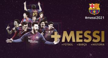 Messi renovó con Barcelona y acordó una desorbitante cláusula de rescisión