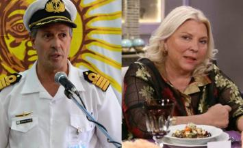 "La Armada dejó mal parada a Carrió por decir que los tripulantes del ARA San Juan ""están muertos"""
