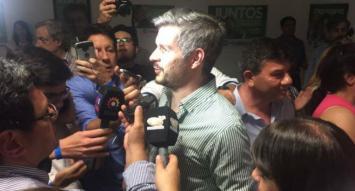 Peña y Frigerio celebraron el triunfo de Cambiemos junto a Colombi y Valdés