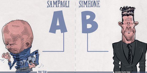 El sucesor de Bauza estaría entre Sampaoli o Simeone