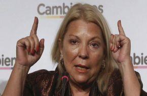 """Carrió """"juega"""" en Capital: """"Es la estrategia de Vidal, Durán Barba y el Presidente"""""""