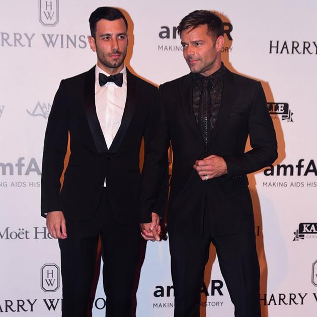 En secreto, Ricky Martin se casó con Jwan Yosef