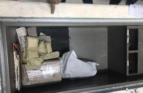 Secuestraron once millones de pesos en diez cajas fuertes en la feria de La Salada