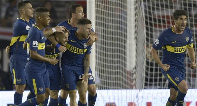 Boca ganó un vibrante Superclásico