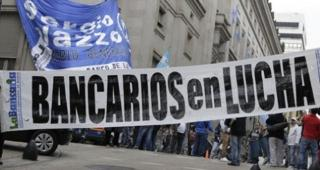 Bancarios lanzaron un paro nacional para el viernes 9 de febrero