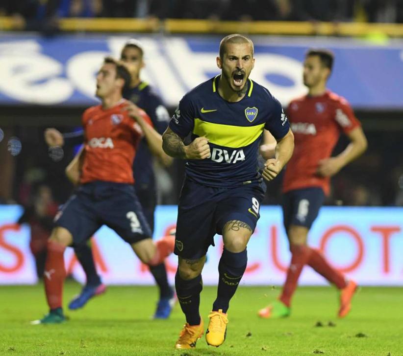 Boca goleó a Independiente y amplió su ventaja rumbo al título (Video).