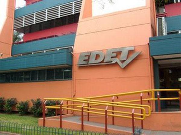 EDET anunció diversos cortes para el fin de semana