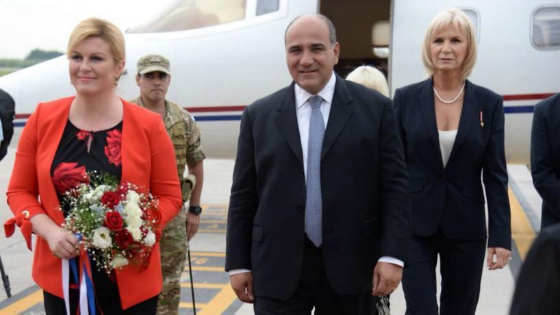 Manzur recibirá a la Presidente de Croacia