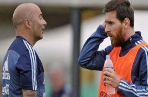 Sampaoli fue a las instalaciones donde concentrará la Selección pre Mundial y se reunió con Messi