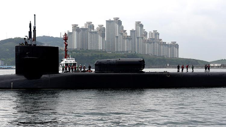 Corea del Norte amenaza con hundir el USS Michigan