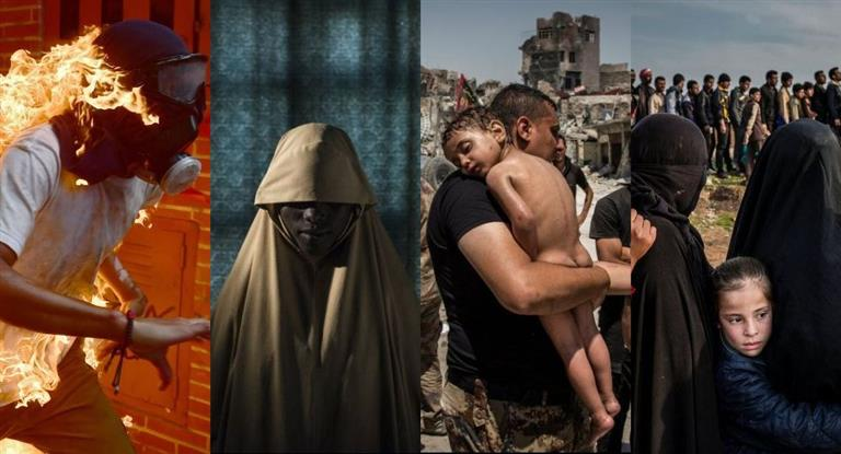 Imágenes de Venezuela, Boko Haram y Mosul, nominadas a mejor foto del año