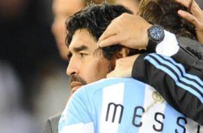 Maradona negó haber sido el promotor de la suspensión a Messi