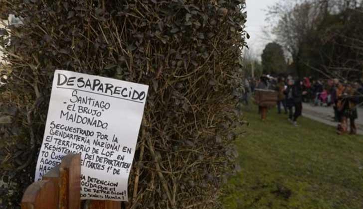 Organizaciones de Derechos Humanos reclaman la aparición de Santiago Maldonado