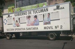 Continua el tráiler sanitario para el llenado de Fichas Médicas