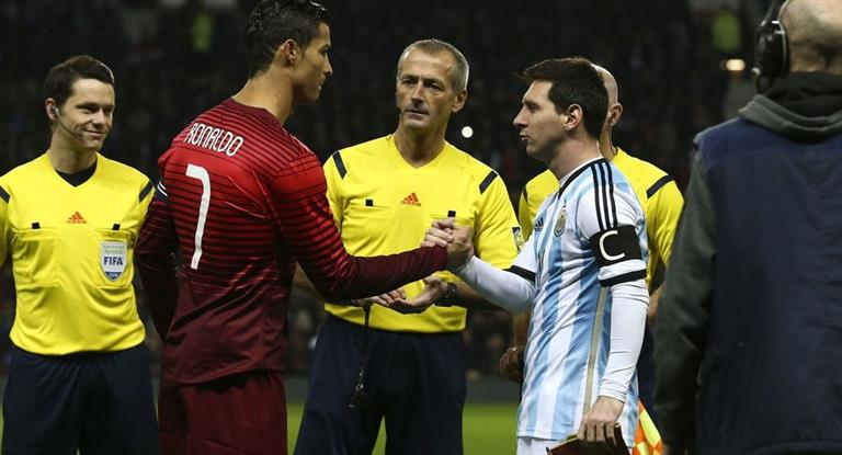 Para Cristiano Ronaldo, Messi tiene más chances de levantar la Copa en Rusia que él