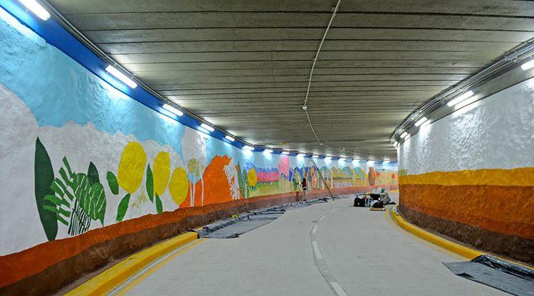 Fin de la espera: quedó inaugurado el túnel de calle Mendoza