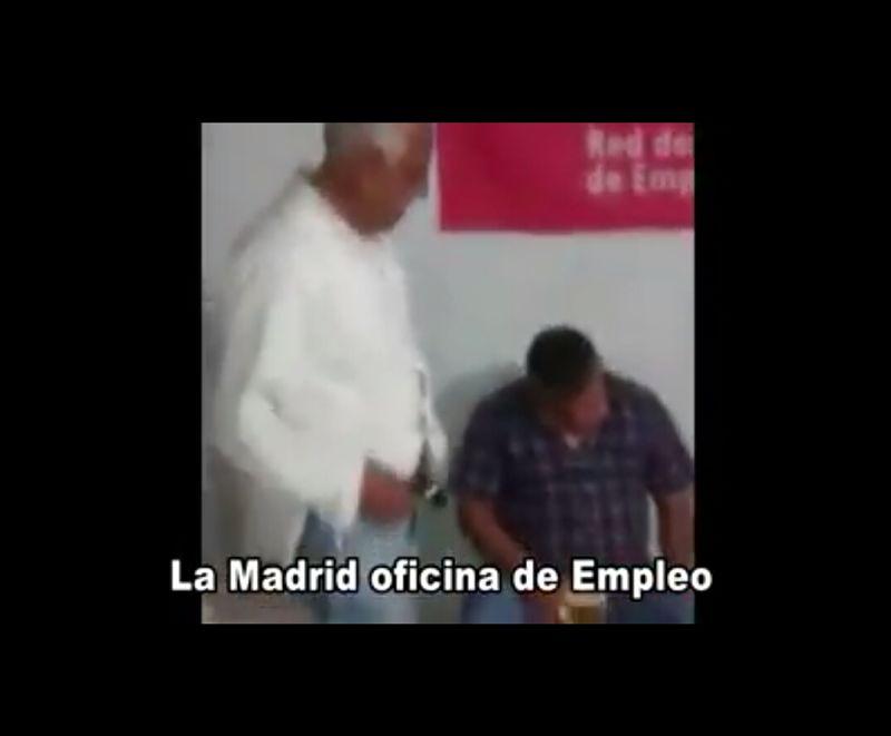 Escandalosa fiesta de funcionarios en La Madrid
