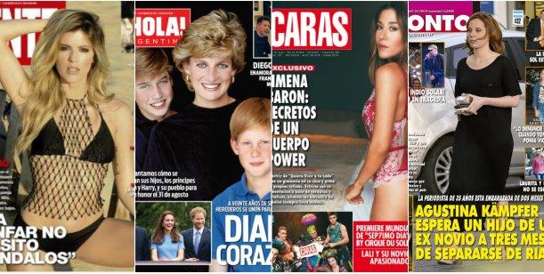 María del Cerro y Jimena Barón, bombas en las tapas; y Agustina Kämpfer, embarazada