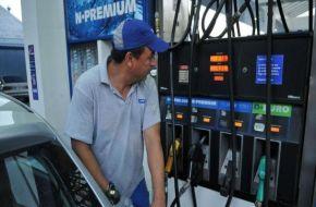 La nafta aumentará un 0,6% entre hoy y mañana