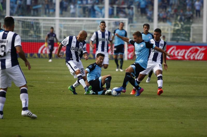 Belgrano y Talleres terminaron empatados en el Kempes (Video).