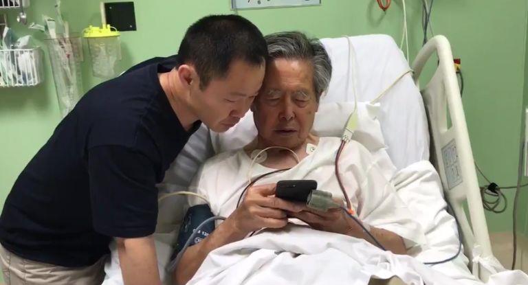 El expresidente peruano Fujimori fue hospitalizado por taquicardia y deshidratación