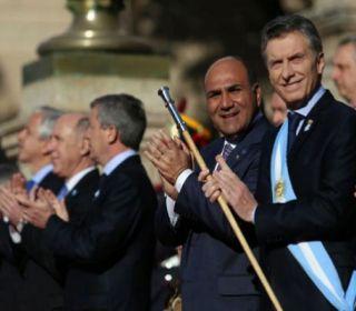 """""""Con Manzur arrancamos bien, pero ahora se puso arisco y criticón"""", dijo el Presidente Macri"""