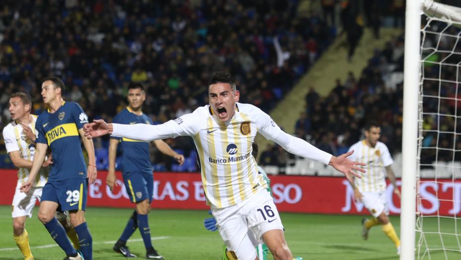 Rosario Central eliminó a Boca en Mendoza y se clasificó a los cuartos de la Copa Argentina