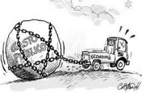 Récord de gasto público cercena el progreso